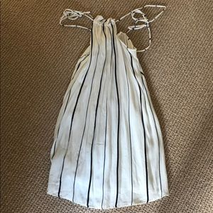 Dresses & Skirts - Faithfull the Brand High Neck striped dress